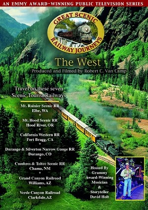 The West: 7 Scenic Railroads - DVD