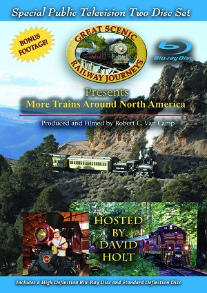 More Trains Around North America, Special Edition Blu-ray 2-disc set
