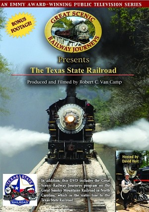 Texas State Railroad DVD